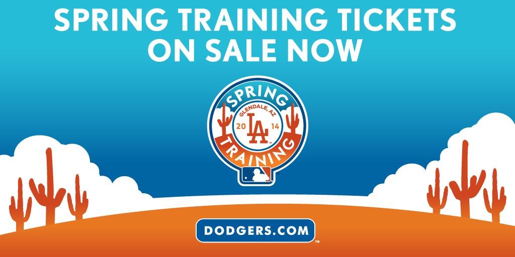 Get $5 off Dodgers Spring Training tickets through Sunday « Dodger Insider