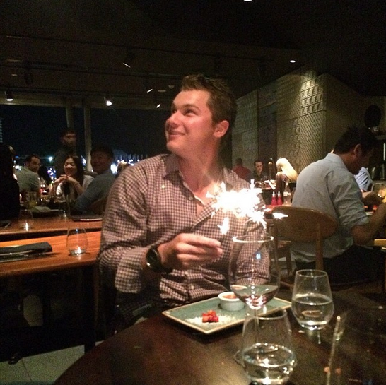 It may not have been @yungjoc650 birthday, but that doesn't mean we couldn't celebrate it