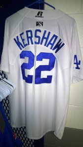 Your first look at Kershaw's Lookouts jersey for tonight.