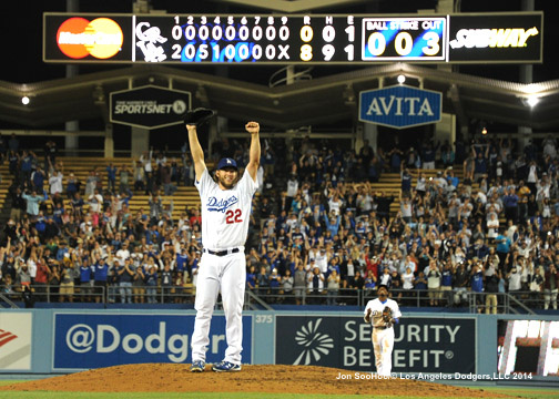 Clayton Kershaw's June 18 no-hitter.