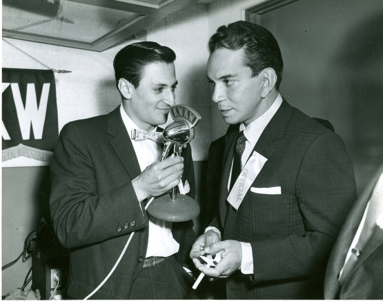 Hall of Famer with Mexican Comedic Legend Mario Moreno - Cantiflas (1950s)