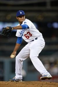Yimi Garcia (Jon SooHoo/Los Angeles Dodgers)