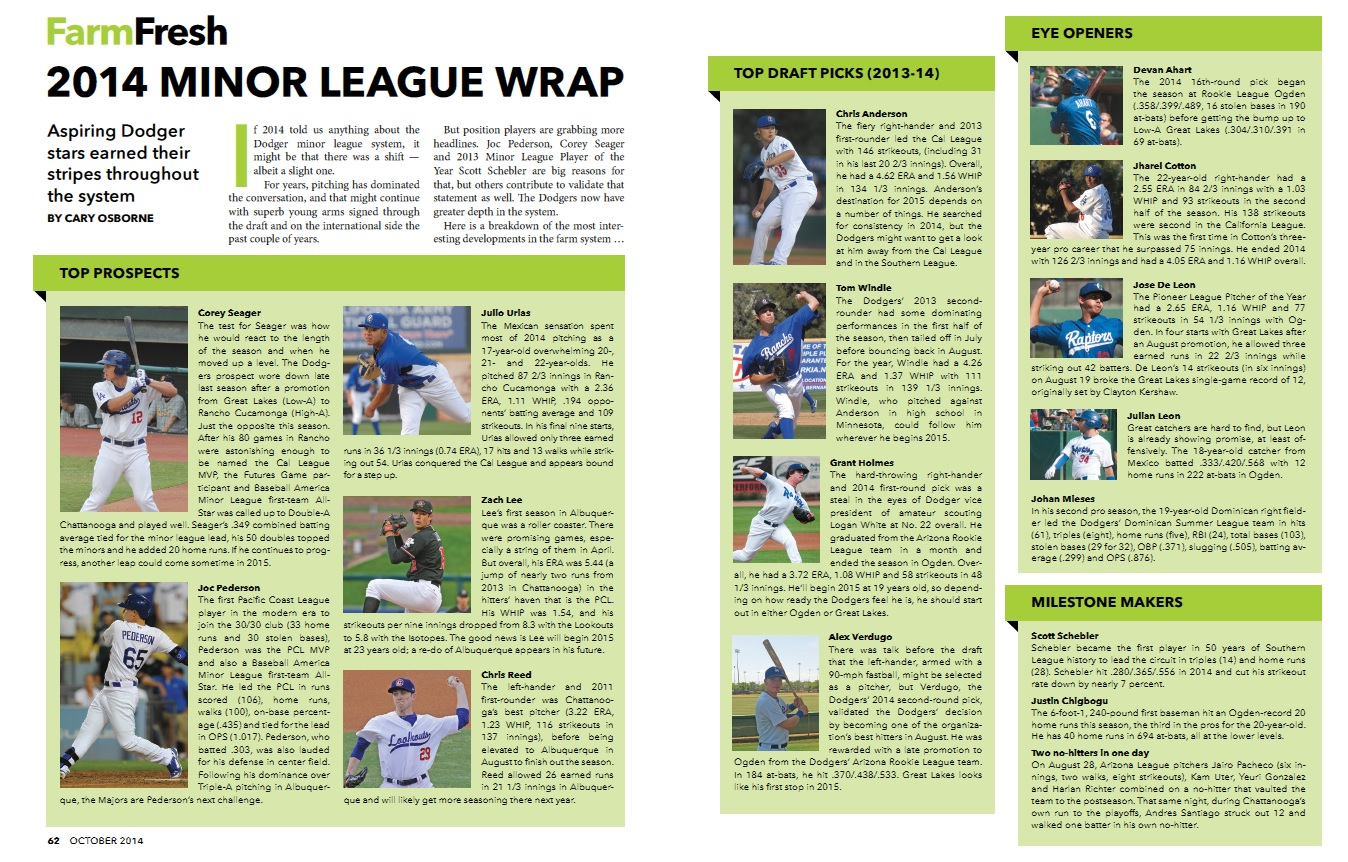 Minor League Wrap