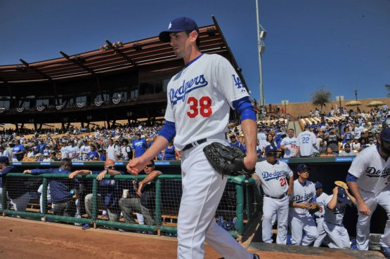 Brandon McCarthy (Jon SooHoo/Los Angeles Dodgers)
