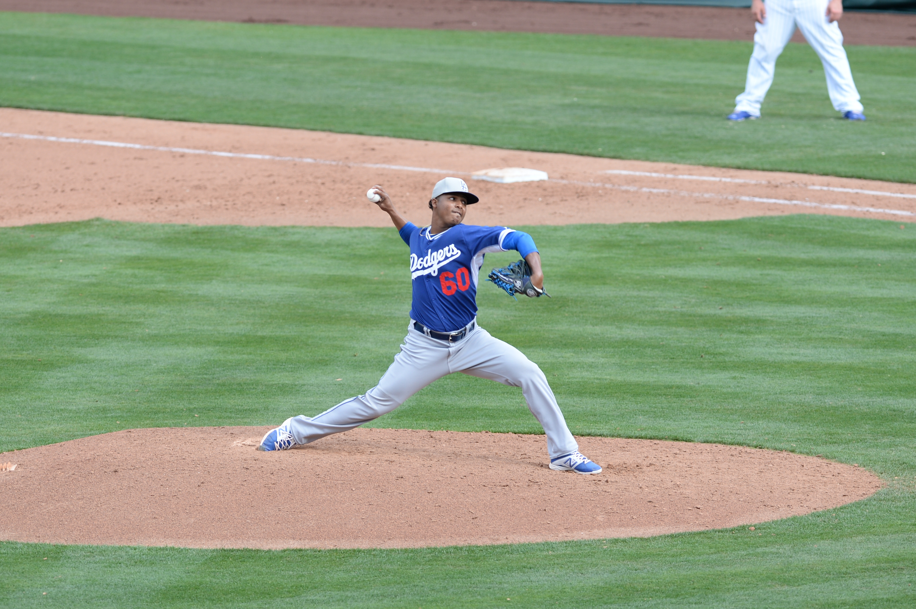 Jose Dominguez, we knew ye, we hardly knew ye, we knew ye, we hardly knew ye ... (Jon SooHoo/Los Angeles Dodgers)