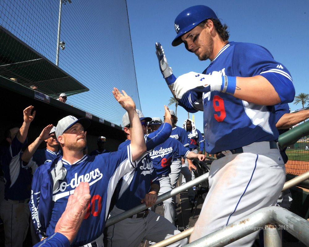 Los Angeles Dodgers at Cleveland Indians