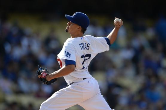 Carlos Frias xxx. (Jon SooHoo/Los Angeles Dodgers)