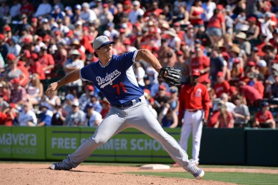 Josh Ravin (Jon SooHoo/Los Angeles Dodgers)
