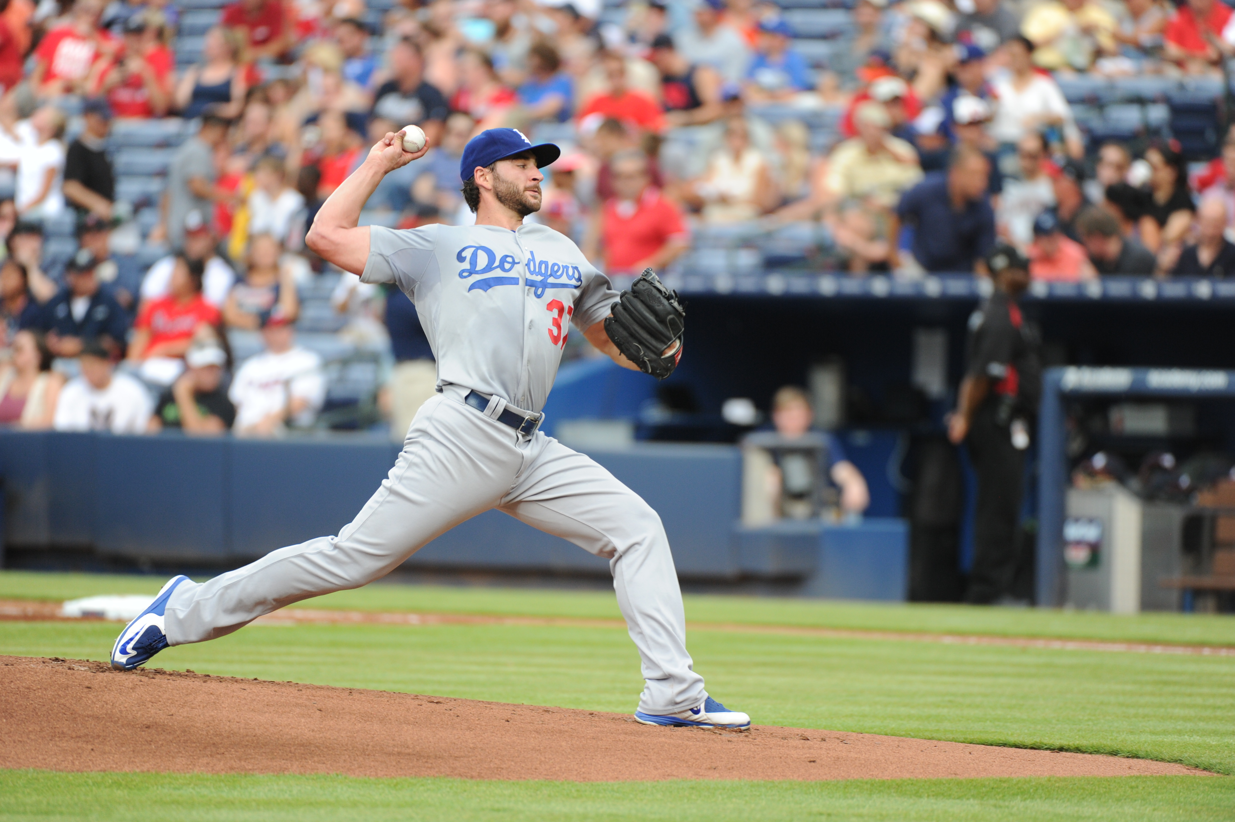Brandon Beachy (Jon SooHoo/Los Angeles Dodgers)