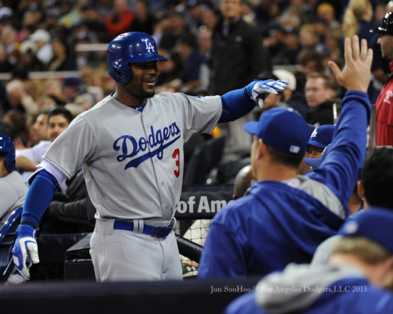 Los Angeles Dodgers vs San Diego Padres Friday, April 24, 2015 at Petco Park in San Diego, California. The Dodgers beat the Padres 3-0.  Photo by Jon SooHoo/©Los Angeles Dodgers,LLC 2015.