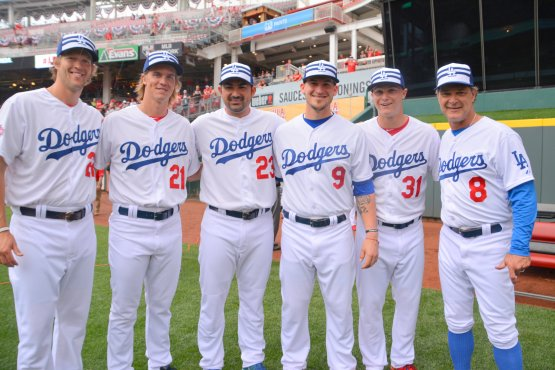 The 2015 Dodger All-Stars  (Ben Platt/MLB.com)