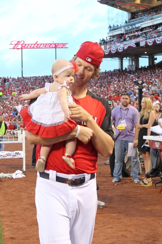 Clayton and Cali Ann Kershaw (John Grieshop/MLB Photos via Getty Images)