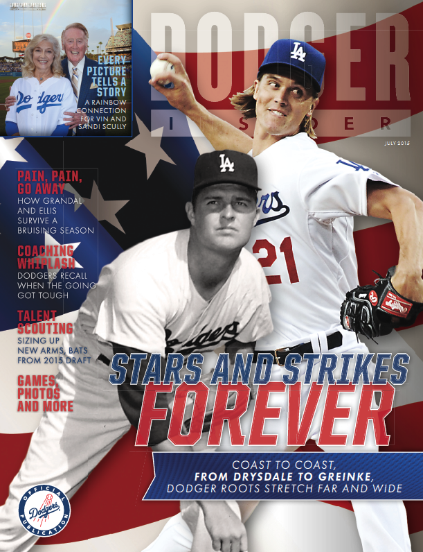 July 2015 Dodger Insider cover