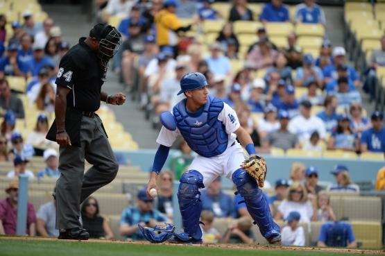 Austin Barnes (Jill Weisleder/Los Angeles Dodgers)