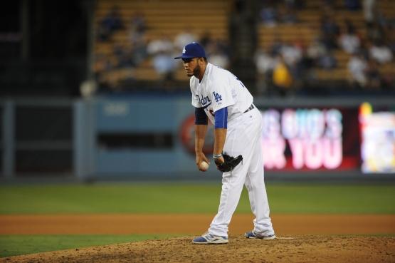 Yimi Garcia (Juan Ocampo/Los Angeles Dodgers)