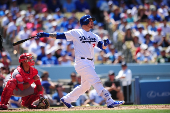 Yasmani Grandal has a .997 OPS since May 1. (Juan Ocampo/Los Angeles Dodgers)