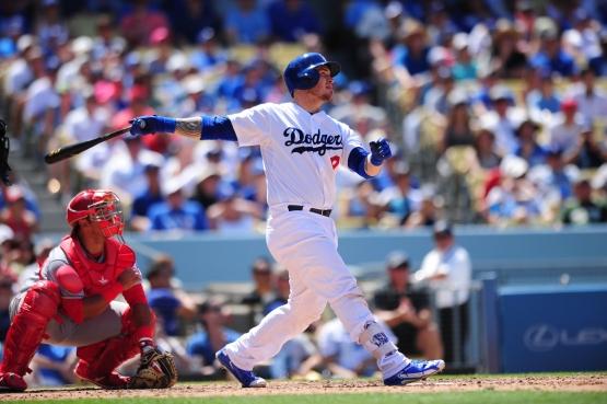 Yasmani Grandal has a .997 OPS since May 1. (Juan Ocampo/Los Angeles Dodgers)