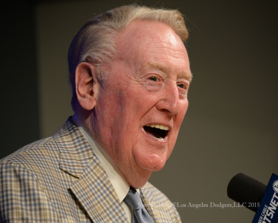 Vin Scully Press Conference