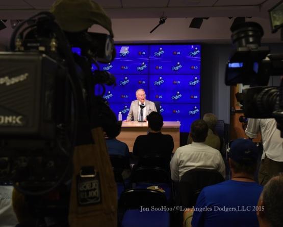 Vin Scully Press Conference