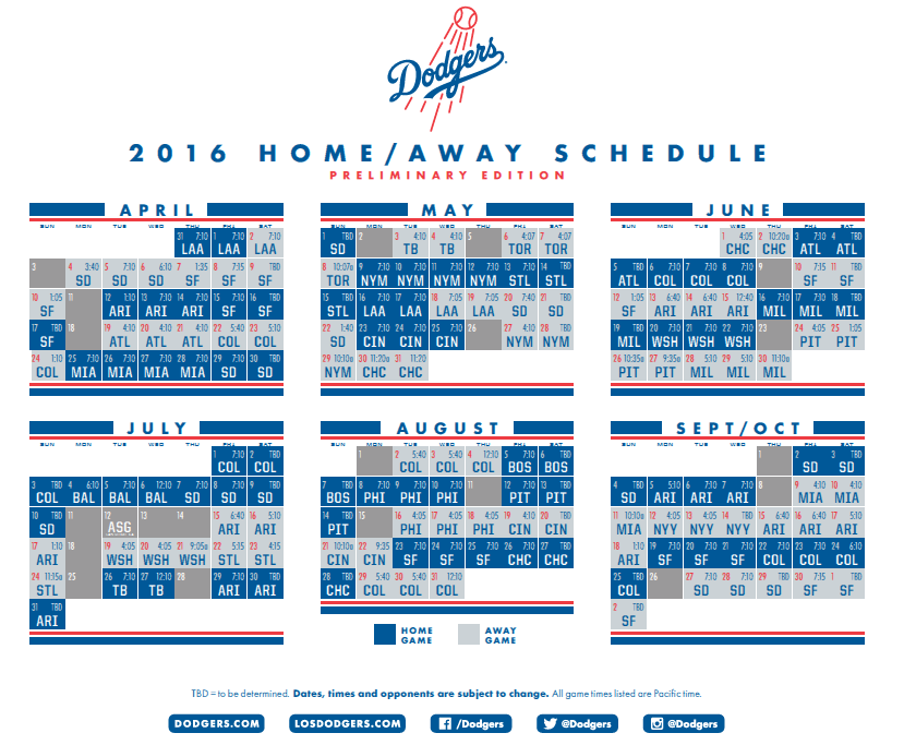 al east games  highlights  los angeles dodgers  schedule los angeles dodgers