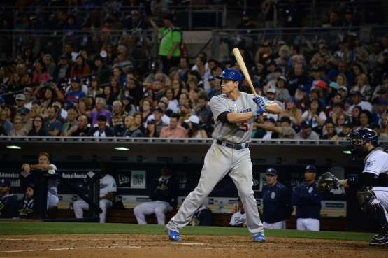 Corey Seager has nine singles, eight walks and six doubles in his first 11 games. (Jon SooHoo/Los Angeles Dodgers)