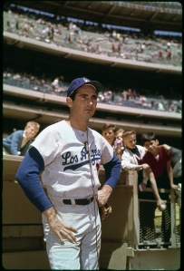Sandy Koufax poses for a portrait circa 1962. Photo by Louis Requena/MLB Photos