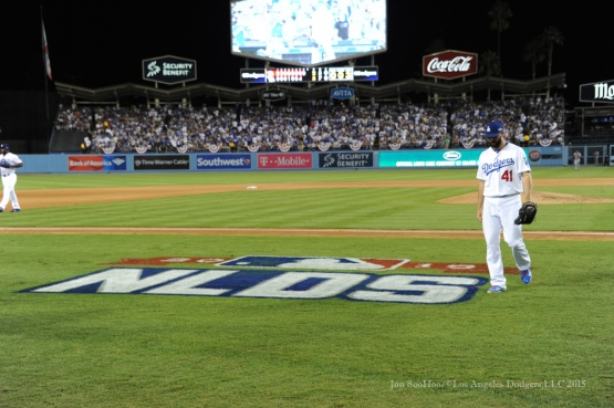 2015 NLDS-Game Two-Los Angeles Dodgers vs New York Mets