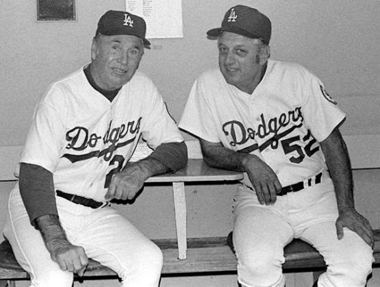 Lasorda and Alston
