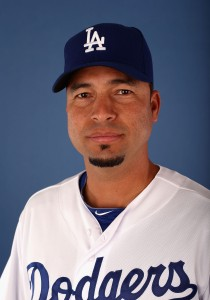 GLENDALE, AZ - FEBRUARY 17: Juan Castro of the Los Angeles Dodgers poses for a portrait during spring training photo day at Camelback Ranch on February 17, 2013 in Glendale, Arizona. (Photo by Christian Petersen/Getty Images)