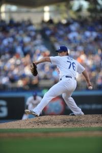 Matt West (Juan Ocampo/Los Angeles Dodgers)
