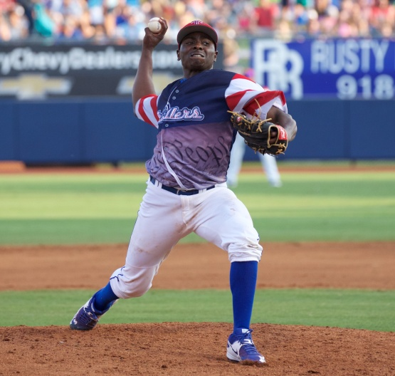 Jharel Cotton. Photo by Rich Crimi/Tulsa Drillers