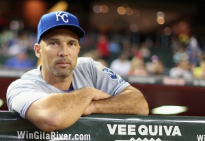 Raul Ibanez finished his MLB career with Kansas City in 2014. (Christian Petersen/Getty Images)