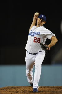 Jamey Wright pitching in his most recent Major League game, on September 27, 2014.
