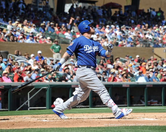 Yasmani Grandal homers March 18 against Arizona.