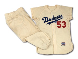 1956 Brooklyn Dodgers Home Uniform
