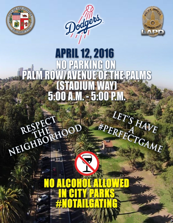 DODGER OPENING DAY 2016