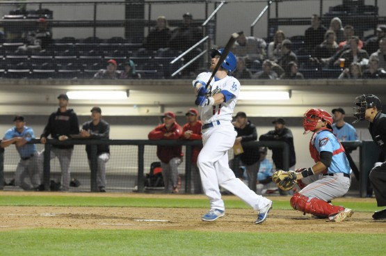 Rancho Cucamonga's Kyle Garlick. Photo by Steve Saenz/Rancho Cucamonga Quakes