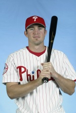 Chase Utley in 2003 (Craig Jones/Getty Images)
