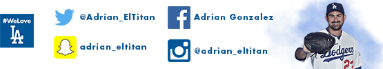 Follow Adrian Gonzalez