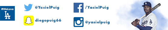 Follow Yasiel Puig