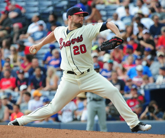 Bud Norris pitched seven shutout innings Sunday against the Mets. (Scott Cunningham/Getty Images)