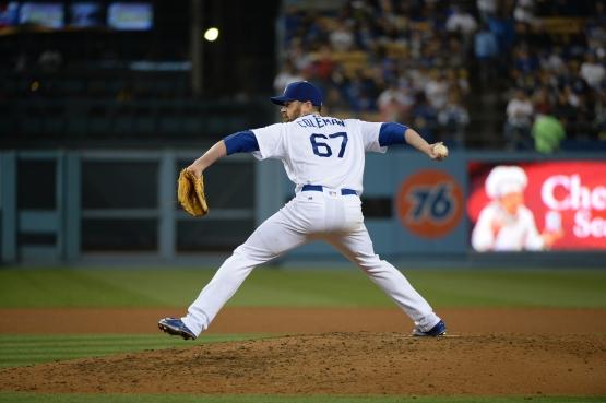 Louis Coleman has (Jon SooHoo/Los Angeles Dodgers)