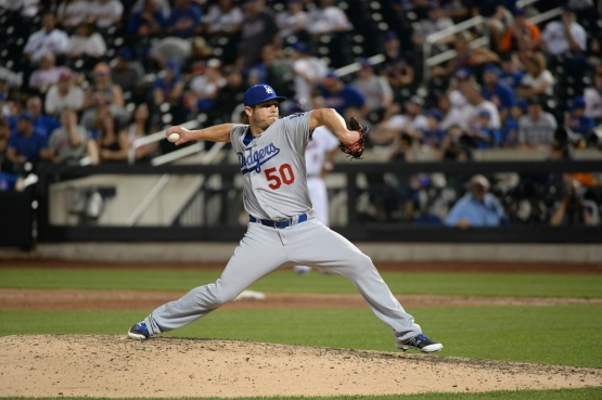 Casey Fien makes his Dodger debut on May 28 at New York's Citi Field. Jon SooHoo/Los Angeles Dodgers