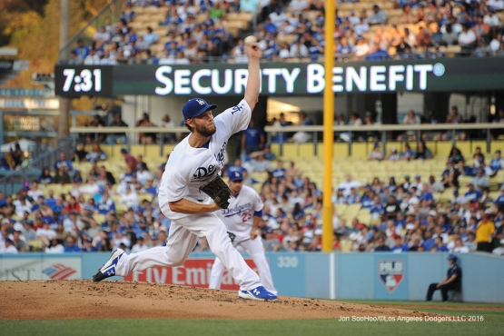 Los Angeles Dodgers against the Washington Nationals