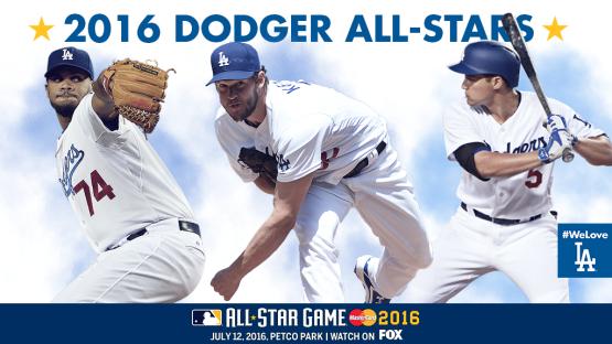 Jansen, Kershaw, Seager named to NL All-Star team « Dodger Insider