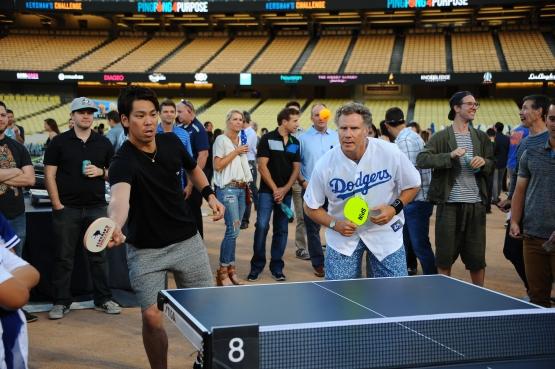 Kershaw's Ping Pong Challenge