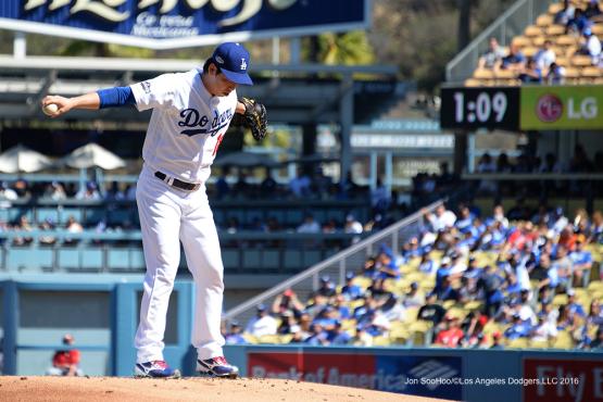 2016 NLDS Game 3---Los Angeles Dodgers vs Washington Nationals