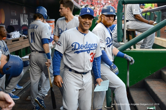 2016 NLDS Game One---Los Angeles Dodgers vs Washington Nationals