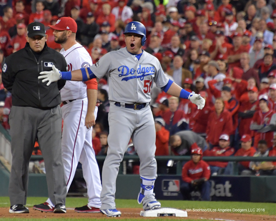 NLDS-Game 5-Los Angeles Dodgers vs Washington Nationals