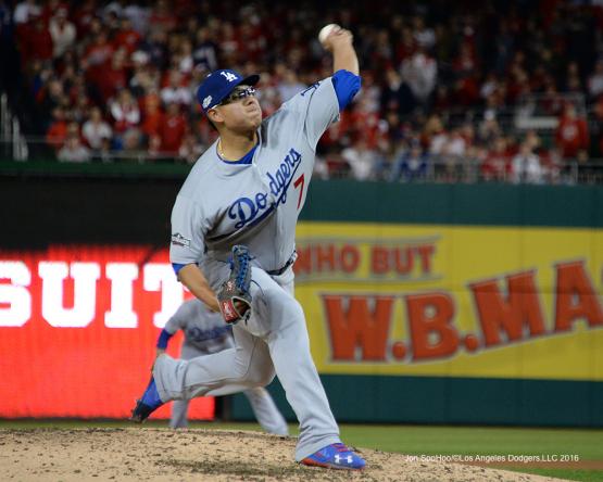 NLDS-Game 5-Los Angeles Dodgers vs Washington Nationals